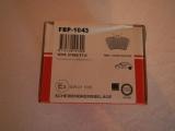 Bremsbeläge VW T4 HA FBP-1043 701698451