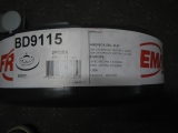Bremscheibensatz HA Opel Vectra 278x12 569115 BD9115