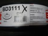 Bremsscheibensatz VW T4 HA  701615601  BD-3111